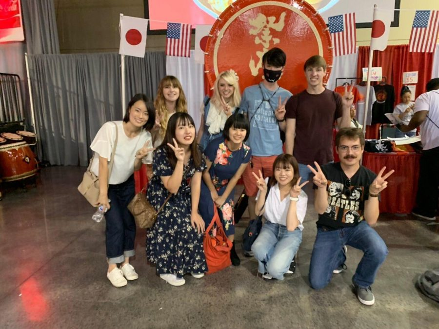 Understanding, practicing and integrating Japanese culture man goals of Georgia Southerns Japanese club