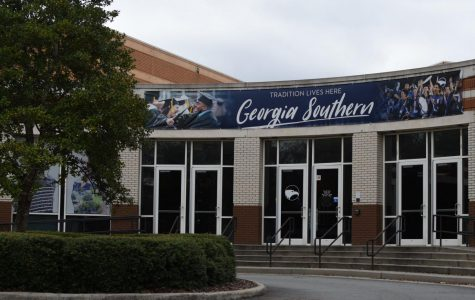 Two Georgia Southern students gave a presentation at the open forum on Wednesday regarding inclusiveness.
