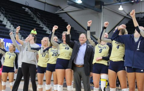 The Georgia Southern volleyball team finished 7-20 in Chad Willis' first year as head coach.