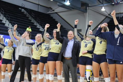 The Georgia Southern volleyball team finished 7-20 in Chad Willis
