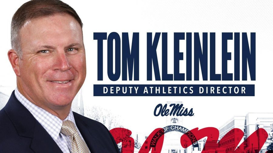 Georgia+Southern+Athletic+Director+Tom+Kleinlein+has+been+hired+as+the+deputy+athletic+director+at+Ole+Miss