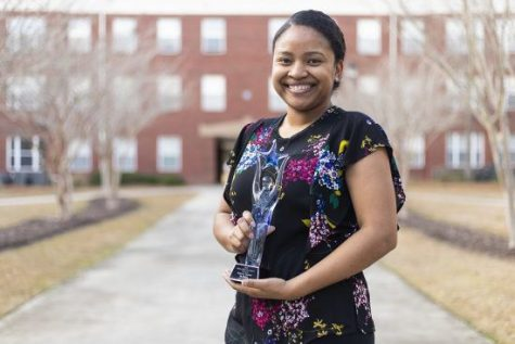 Telecia Taylor was named Professional Staff Member of the Year at the 2019