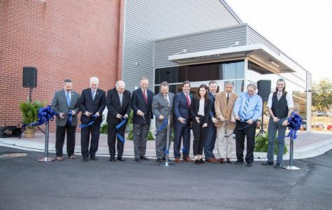 Kinesiology Research Laboratories ribbon cutting