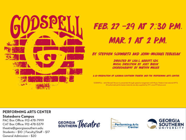 Godspell blends the soul of 70s rock musicals with a variety of song genres and a modern spin to tell a story of love and kindness that still has merit today.