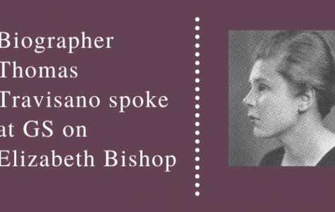 Biographer Thomas Travisano spoke at GS on Elizabeth Bishop