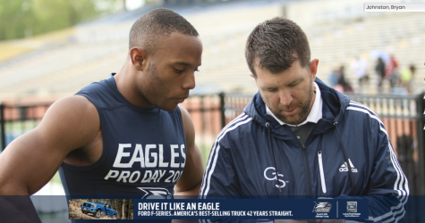Bryan Johnston is finishing his fifth season at Georgia Southern University. He is the Associate Athletic Director for Public Relations and Communications.
