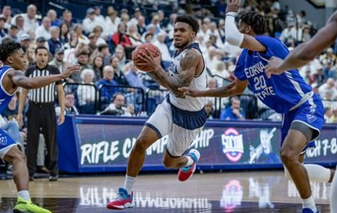 Ike Smith received the 2020 All-American Athlete Award after his final season at Georgia Southern.