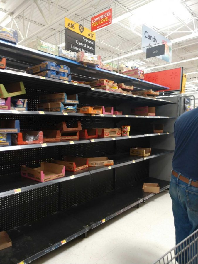 Online classes and trips to Walmart: Our staffs observations