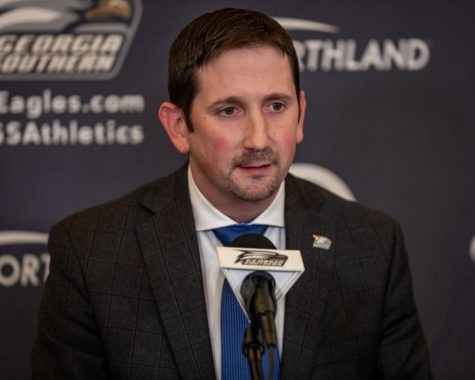 Before Georgia Southern, Brian Burg was an assistant coach for the Texas Tech men