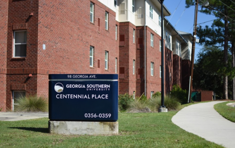 Students living in residence halls like Centennial Place had to move out early when the University System of Georgia closed campuses statewide due to COVID-19.