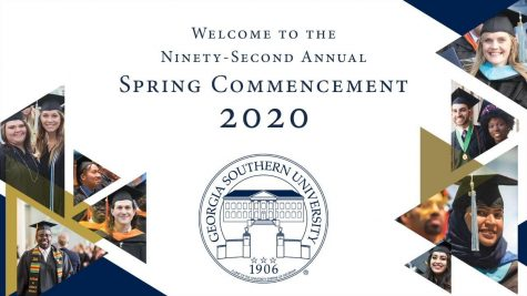 GS Spring Commencement graphics.