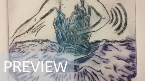 Swan Print 1/4