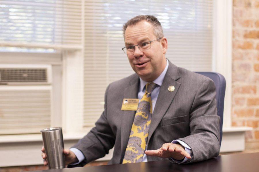 Georgia Southern President Kyle Marrero