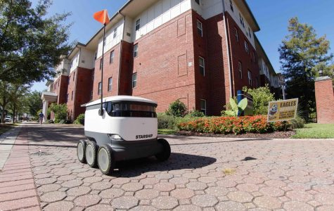 Robots are now roaming the Statesboro campus