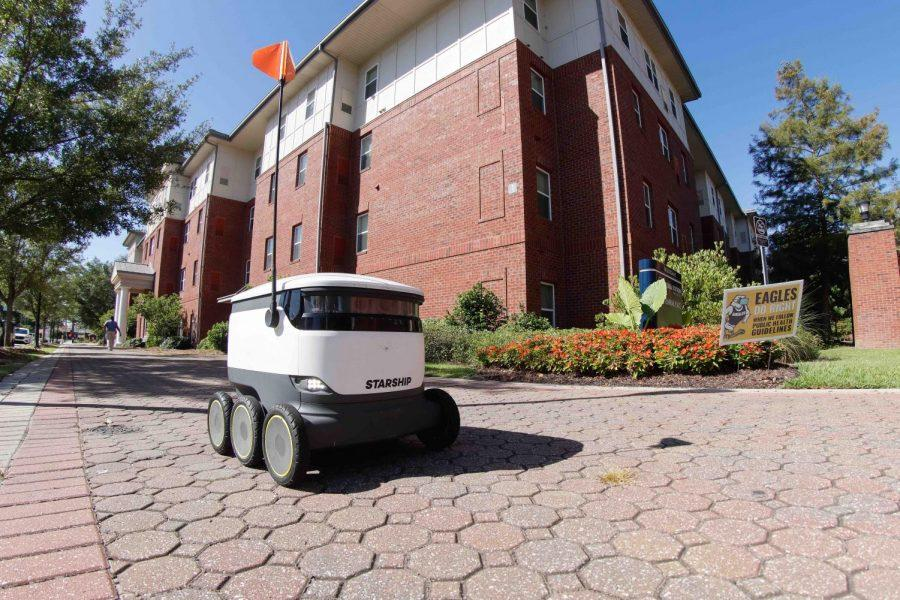 Robots are now roaming the Statesboro campus