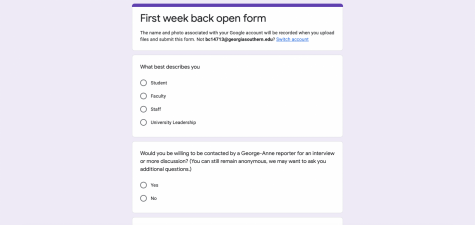 We asked, you responded - first week back results