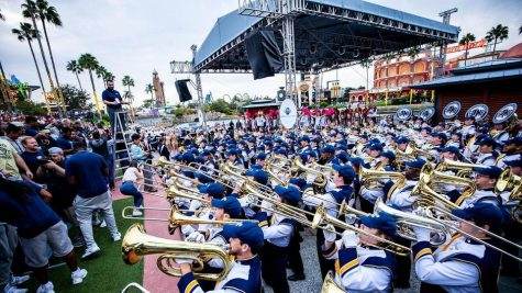 Marching band and athletics come to an agreement on game day seating