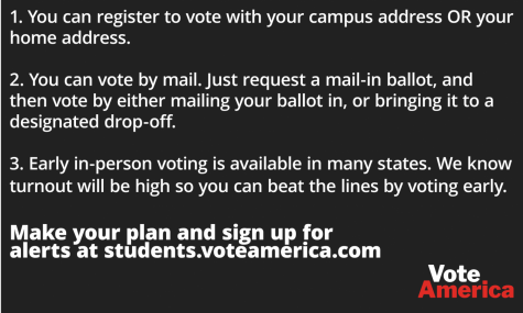 College students will decide this election, vote!