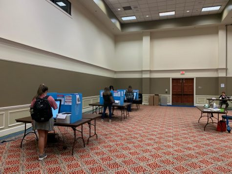 Election officials anticipate record breaking numbers from Russell Union early voting