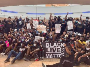 Following grand jury decision in Breonna Taylor case, minority organizations march for continued justice