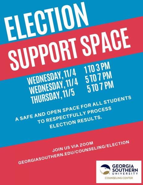 Counseling center to offer virtual election support spaces
