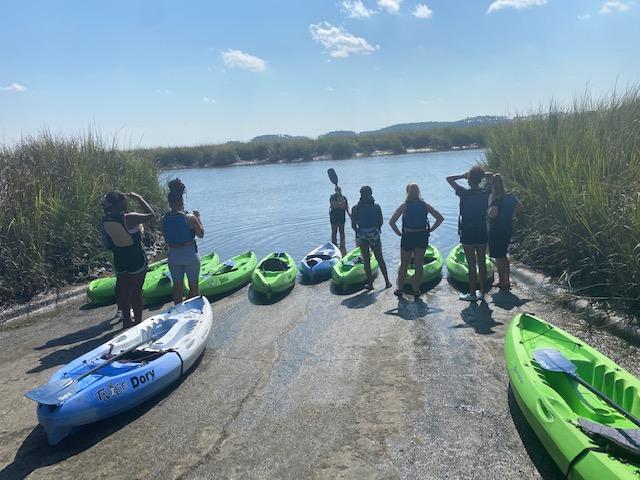Kayaking with CRI