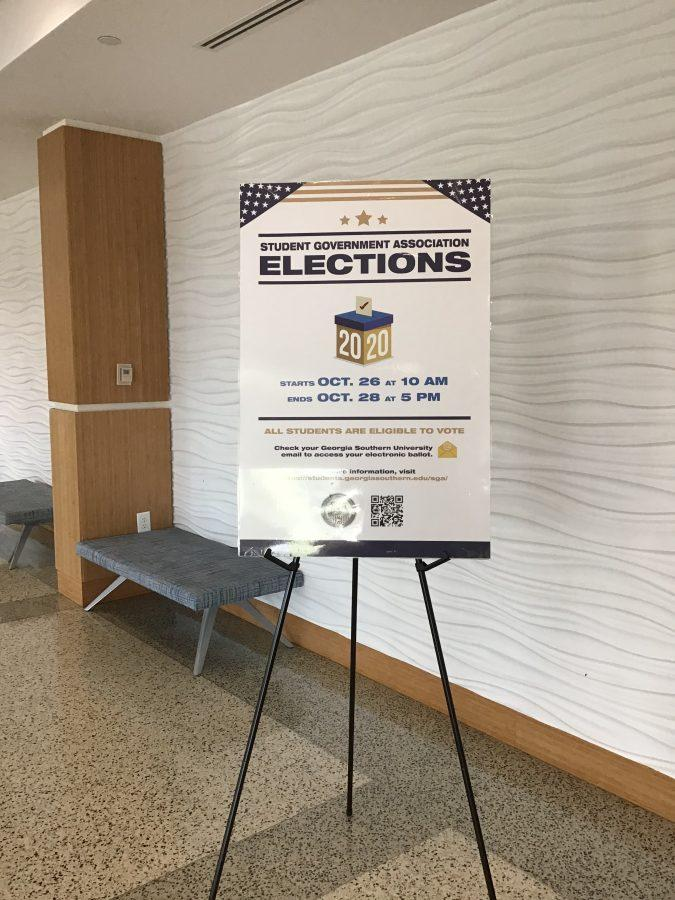 SGA Elections Start Today