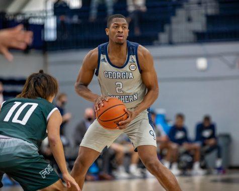 Eagle mens basketball open 2020 season with a win