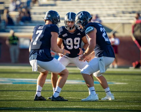 Offense shines in tight win over Bobcats