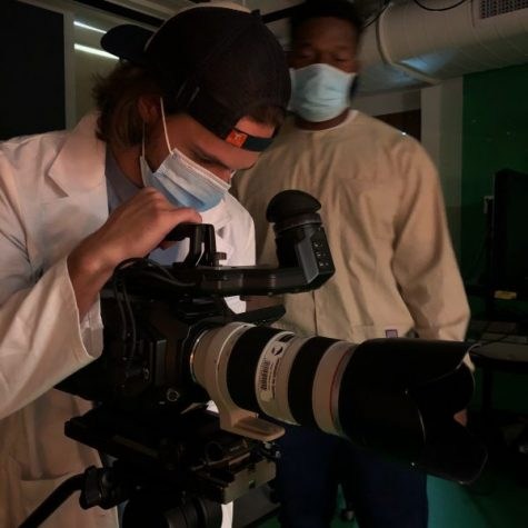 Multimedia film students getting hands-on experience, despite pandemic