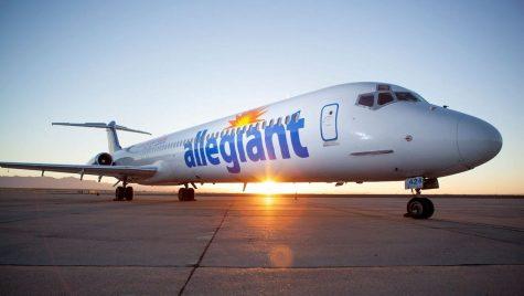 Allegiant Airlines delays football team