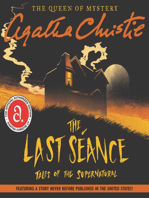 Book+for+Halloween+%3AThe+Last+S%C3%A9ance%3A+Tales+of+the+Supernatural%E2%80%9D+by+Agatha+Christie