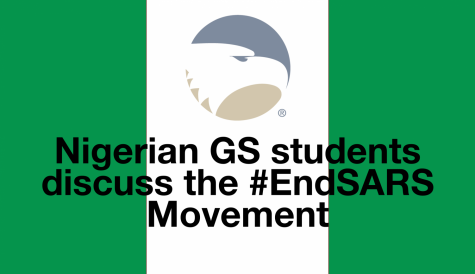 Nigerian students on the #EndSARS movement