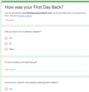 We asked, you responded: How was your first day back?