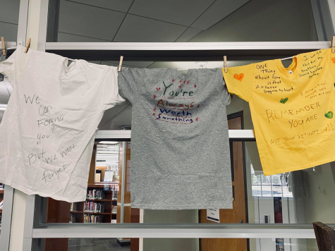 Clothesline Project Honors Victims of Violence
