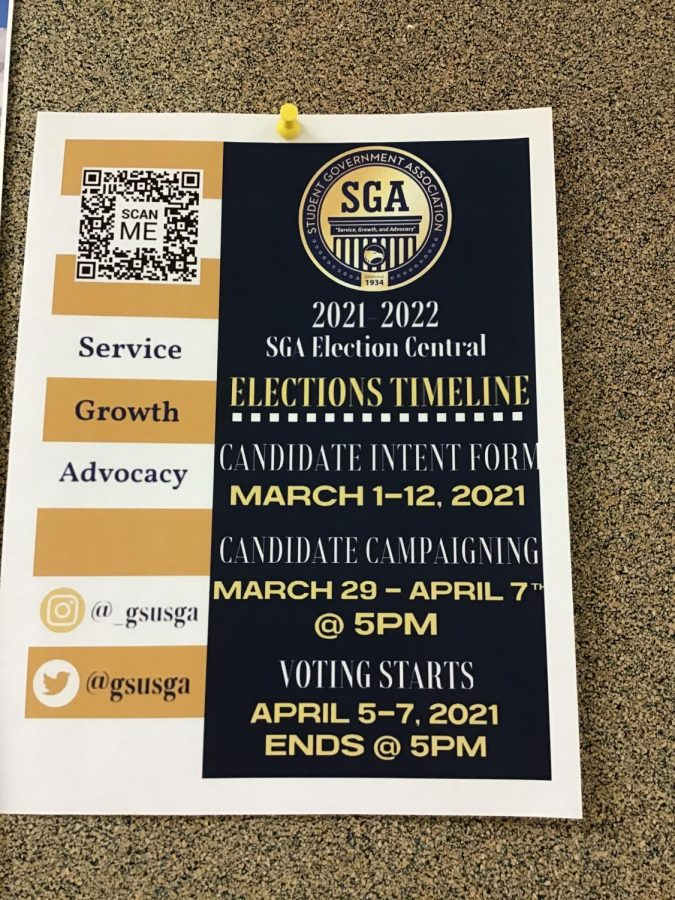 2021-2022 Student Government Elections