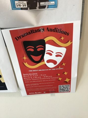 The Communication Arts Department Hosts Dramarama Auditions