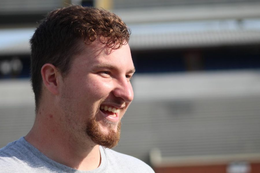 Ryan Langan and his teammates show out for NFL scouts at GS' Pro Day in Paulson Stadium on March 25.