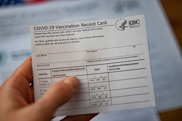 Only way out of quarantine is proof of vaccination, says GS