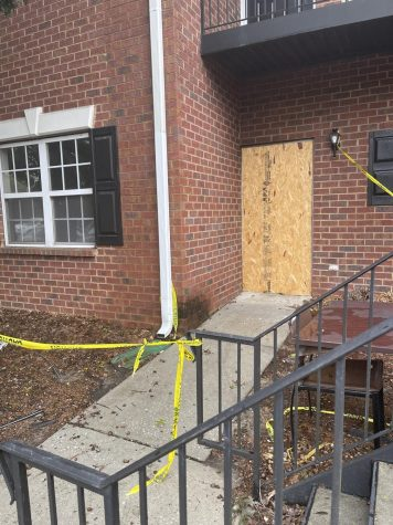 Apartment fire leaves student homeless