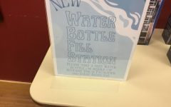 New Water Bottle Fill Station