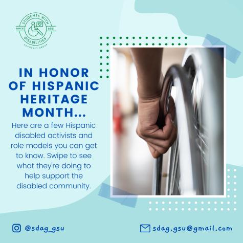 Hispanic Disabled Activists