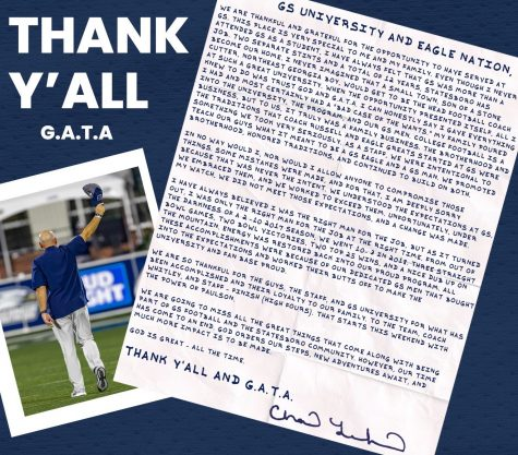 Lunsford pens goodbye letter to GS community