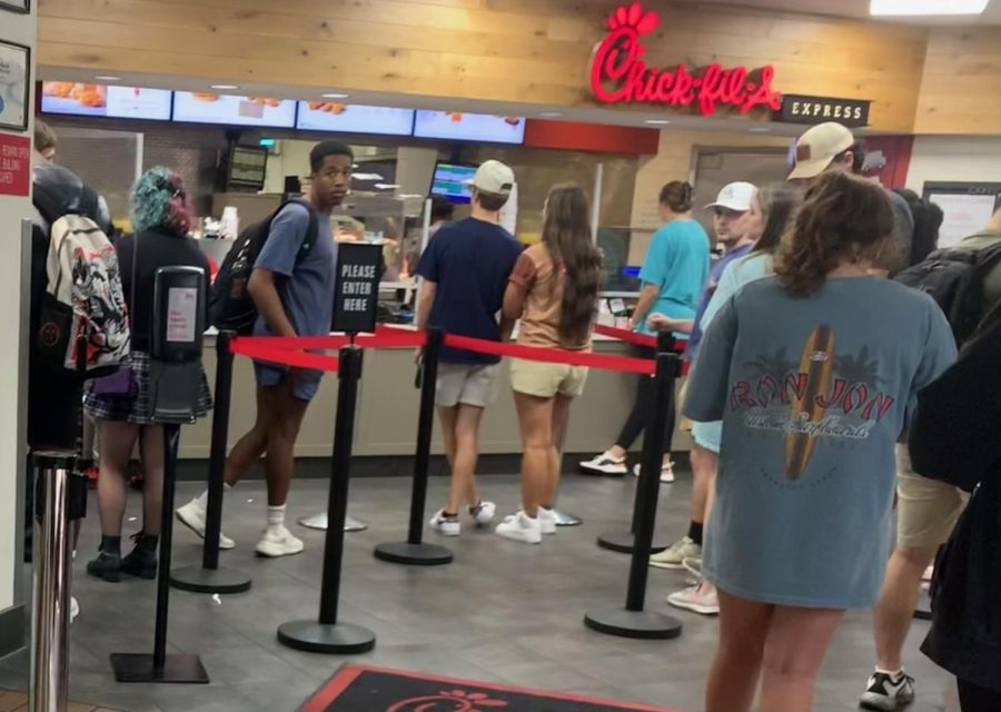 Campus Chick-Fil-A not budging on limited menu