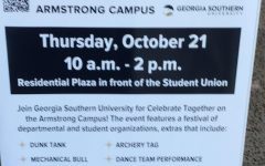 Celebrate Together poster in the Student Union